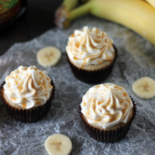 Banana Fosters Cupcakes